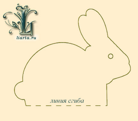 Выкройка подушка заяц своими руками